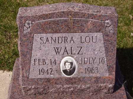 WALZ, SANDRA LOU-MONUMENT - Franklin County, Ohio | SANDRA LOU-MONUMENT WALZ - Ohio Gravestone Photos
