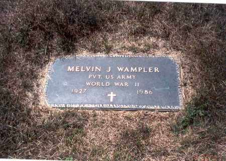 WAMPLER, MELVIN J. - Franklin County, Ohio   MELVIN J. WAMPLER - Ohio Gravestone Photos