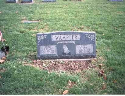 WAMPLER, MILLARD - Franklin County, Ohio | MILLARD WAMPLER - Ohio Gravestone Photos
