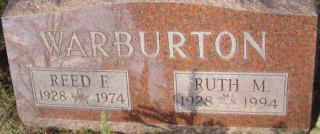 WARBURTON, RUTH - Franklin County, Ohio | RUTH WARBURTON - Ohio Gravestone Photos