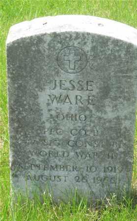 WARE, JESSE - Franklin County, Ohio | JESSE WARE - Ohio Gravestone Photos