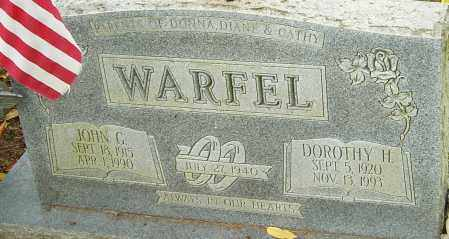 WARFEL, DOROTHY - Franklin County, Ohio | DOROTHY WARFEL - Ohio Gravestone Photos