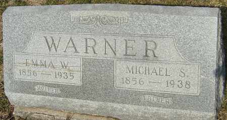 WARNER, EMMA - Franklin County, Ohio | EMMA WARNER - Ohio Gravestone Photos