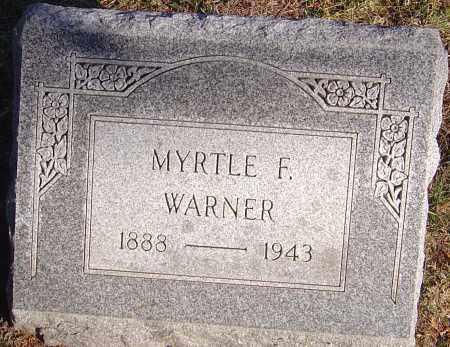 FAIRMAN WARNER, MYRTLE - Franklin County, Ohio | MYRTLE FAIRMAN WARNER - Ohio Gravestone Photos