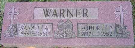 WARNER, SARAH A - Franklin County, Ohio | SARAH A WARNER - Ohio Gravestone Photos