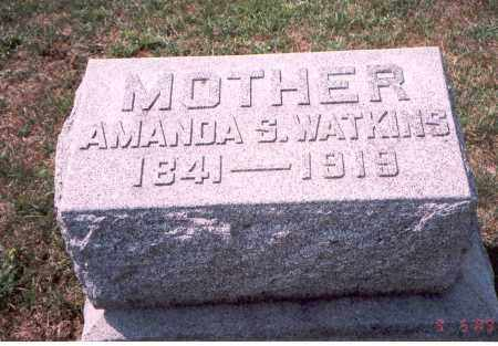 WATKINS, AMANDA S. - Franklin County, Ohio | AMANDA S. WATKINS - Ohio Gravestone Photos
