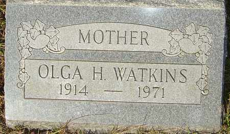 HERETICK WATKINS, OLGA - Franklin County, Ohio | OLGA HERETICK WATKINS - Ohio Gravestone Photos