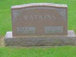 WATKINS, WILBUR OWEN - Franklin County, Ohio | WILBUR OWEN WATKINS - Ohio Gravestone Photos