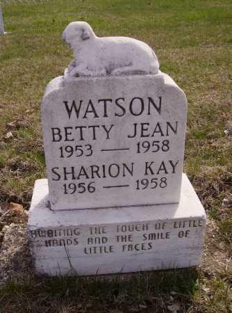 WATSON, SHARION KAY - Franklin County, Ohio | SHARION KAY WATSON - Ohio Gravestone Photos