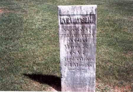 WATSON, EVE - Franklin County, Ohio   EVE WATSON - Ohio Gravestone Photos
