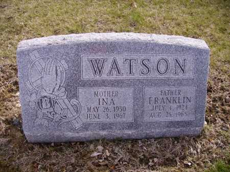 WATSON, INA - Franklin County, Ohio | INA WATSON - Ohio Gravestone Photos