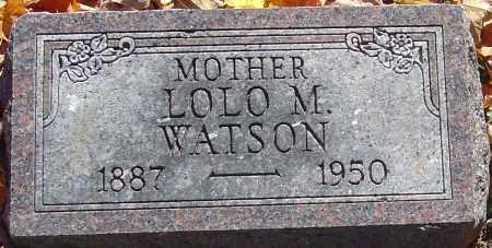 WATSON, LOLO M - Franklin County, Ohio | LOLO M WATSON - Ohio Gravestone Photos