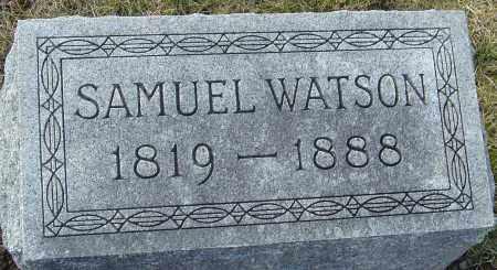 WATSON, SAMUEL - Franklin County, Ohio | SAMUEL WATSON - Ohio Gravestone Photos