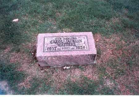 WATTERS, CAROL JACKLIN - Franklin County, Ohio | CAROL JACKLIN WATTERS - Ohio Gravestone Photos
