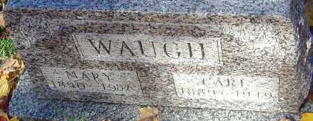WAUGH, MARY - Franklin County, Ohio | MARY WAUGH - Ohio Gravestone Photos