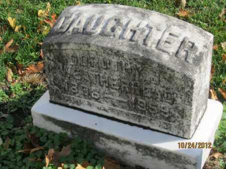 WEATHERHEAD, DOROTHY MARY - Franklin County, Ohio | DOROTHY MARY WEATHERHEAD - Ohio Gravestone Photos