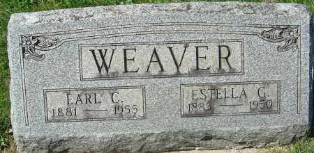 WEAVER, ESTELLA - Franklin County, Ohio | ESTELLA WEAVER - Ohio Gravestone Photos