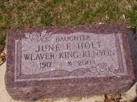KING, JUNE E. - Franklin County, Ohio | JUNE E. KING - Ohio Gravestone Photos