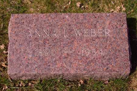 WEBER, ANNA L. - Franklin County, Ohio | ANNA L. WEBER - Ohio Gravestone Photos