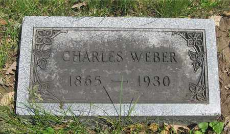 WEBER, CHARLES - Franklin County, Ohio | CHARLES WEBER - Ohio Gravestone Photos