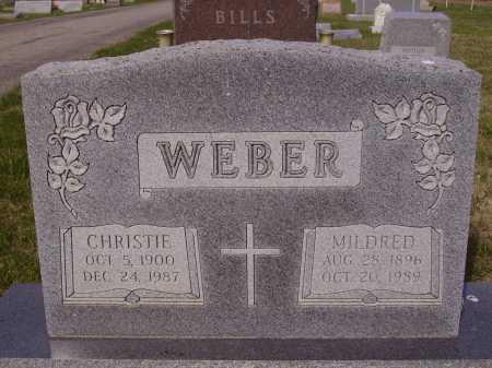 WEBER, MILDRED - Franklin County, Ohio | MILDRED WEBER - Ohio Gravestone Photos