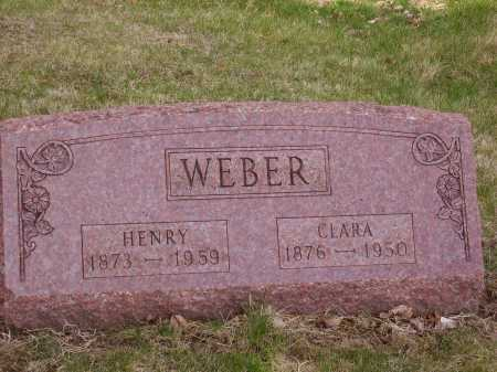 WEBER, CLARA - Franklin County, Ohio | CLARA WEBER - Ohio Gravestone Photos