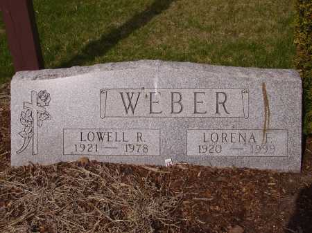 WEBER, LOWELL R. - Franklin County, Ohio | LOWELL R. WEBER - Ohio Gravestone Photos