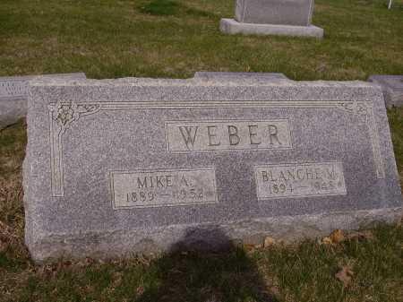 WEBER, BLANCHE M. - Franklin County, Ohio | BLANCHE M. WEBER - Ohio Gravestone Photos