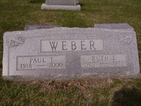 WEBER, PAUL T. - Franklin County, Ohio | PAUL T. WEBER - Ohio Gravestone Photos