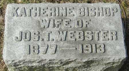 WEBSTER, KATHERINE - Franklin County, Ohio | KATHERINE WEBSTER - Ohio Gravestone Photos