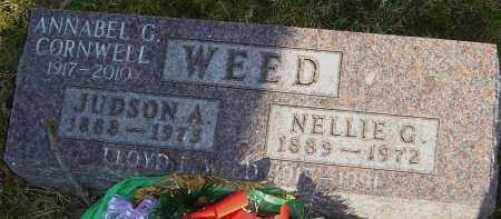 WEED, NELLIE - Franklin County, Ohio | NELLIE WEED - Ohio Gravestone Photos