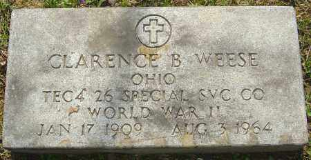 WEESE, CLARENCE B - Franklin County, Ohio | CLARENCE B WEESE - Ohio Gravestone Photos