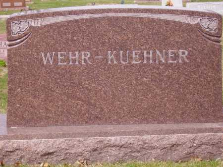 WEHR - KUEHNER, FAMILY MONUMENT - Franklin County, Ohio   FAMILY MONUMENT WEHR - KUEHNER - Ohio Gravestone Photos
