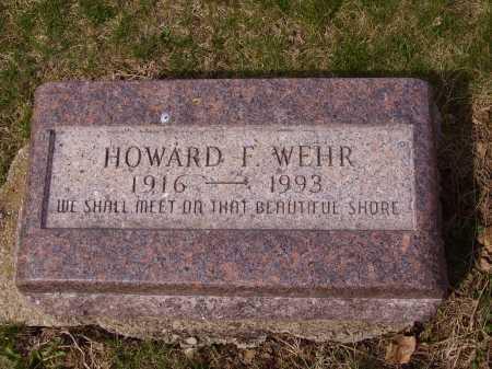 WEHR, HOWARD F. - Franklin County, Ohio | HOWARD F. WEHR - Ohio Gravestone Photos