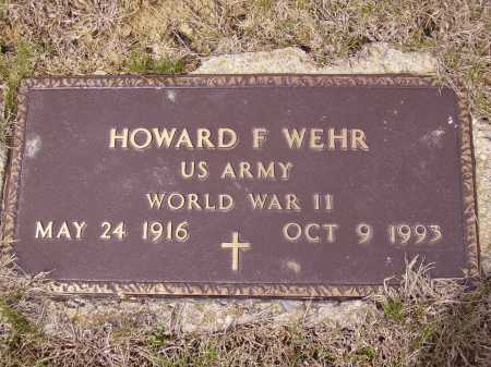 WEHR, HOWARD F. - MILITARY - Franklin County, Ohio | HOWARD F. - MILITARY WEHR - Ohio Gravestone Photos