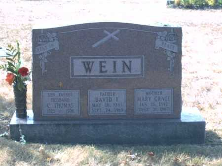 WEIN, DAVID FREDERICK - Franklin County, Ohio | DAVID FREDERICK WEIN - Ohio Gravestone Photos