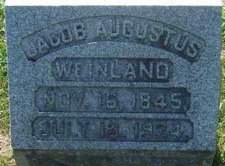 WEINLAND, JACOB AUGUSTUS - Franklin County, Ohio | JACOB AUGUSTUS WEINLAND - Ohio Gravestone Photos
