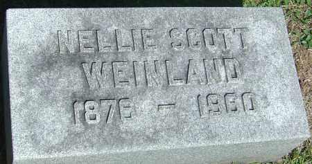 SCOTT WEINLAND, NELLIE - Franklin County, Ohio | NELLIE SCOTT WEINLAND - Ohio Gravestone Photos
