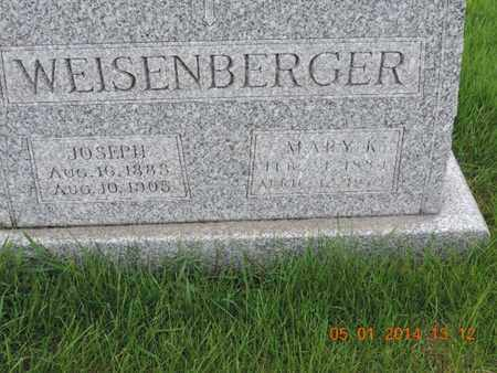 WEISENBERGER, MARY K - Franklin County, Ohio | MARY K WEISENBERGER - Ohio Gravestone Photos