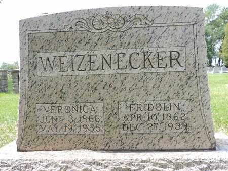 WEIZENECKER, FRIDOLIN - Franklin County, Ohio | FRIDOLIN WEIZENECKER - Ohio Gravestone Photos