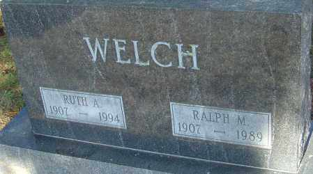 WELCH, RUTH - Franklin County, Ohio | RUTH WELCH - Ohio Gravestone Photos