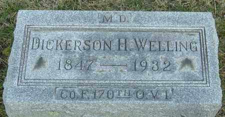 WELLING  M.D., DICKERSON H - Franklin County, Ohio | DICKERSON H WELLING  M.D. - Ohio Gravestone Photos