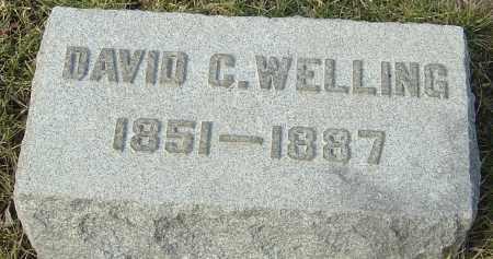 WELLING, DAVID C - Franklin County, Ohio   DAVID C WELLING - Ohio Gravestone Photos