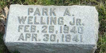 WELLING JR, PARK A - Franklin County, Ohio | PARK A WELLING JR - Ohio Gravestone Photos
