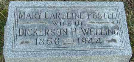 WELLING, MARY CAROLINE - Franklin County, Ohio | MARY CAROLINE WELLING - Ohio Gravestone Photos