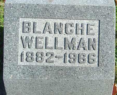 GARDNER WELLMAN, BLANCHE - Franklin County, Ohio | BLANCHE GARDNER WELLMAN - Ohio Gravestone Photos