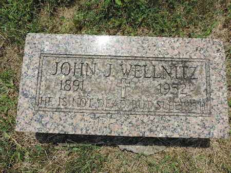 WELLNITZ, JOHN J. - Franklin County, Ohio | JOHN J. WELLNITZ - Ohio Gravestone Photos