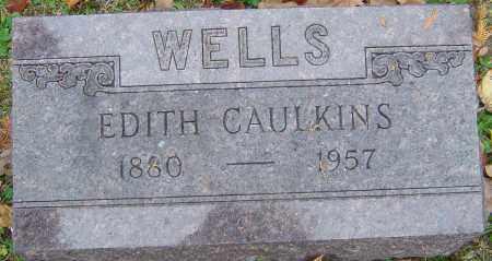 WELLS, EDITH - Franklin County, Ohio | EDITH WELLS - Ohio Gravestone Photos