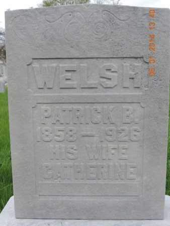 WELSH, CATHERINE - Franklin County, Ohio | CATHERINE WELSH - Ohio Gravestone Photos