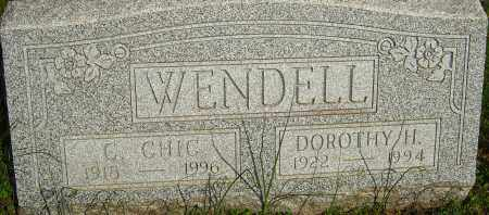 HELPMAN WENDELL, DOROTHY - Franklin County, Ohio | DOROTHY HELPMAN WENDELL - Ohio Gravestone Photos